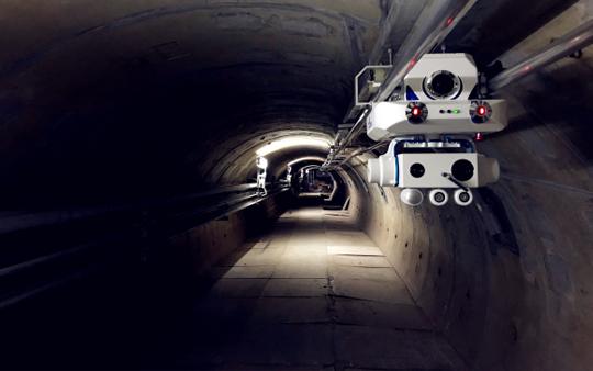 Intelligent Robot Inspection Solution for Cable Tunnel